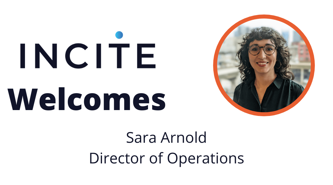 Welcome Sarah Arnold to Incite Strategic Partners